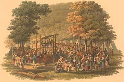 1819 Methodist Camp Meeting.