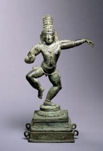 Dancing Krishna Statue
