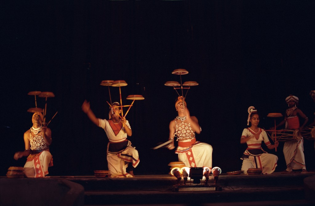 Dancers Spinning Plates