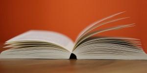 Photograph of Open Book