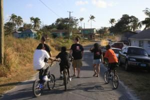 Photo of Students Riding Bikes