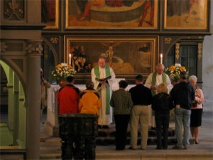 Renewal of Vows Service, Wittenberg English Ministry. Photo by author.