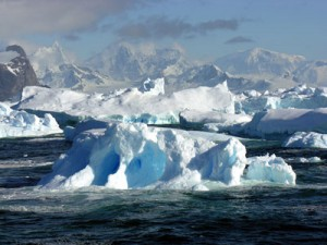 Icebergs and Glaciers. Copyright Michael S. Nolan. Used with permission.