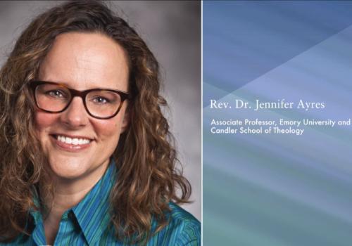 Practical Matters Conference: Jennifer Ayres
