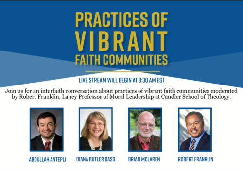 Practical Matters Conference: Practices of Vibrant Faith Communities